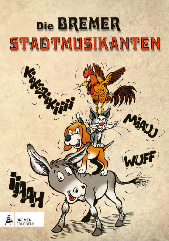 die-bremer-stadtmusikanten | rattenfänger-comic