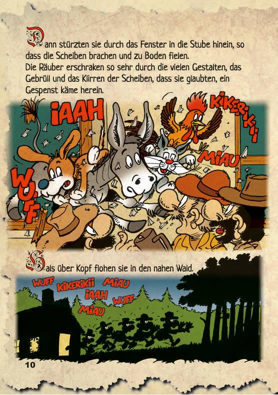 diebremerstadtmusikanten  rattenfängercomic